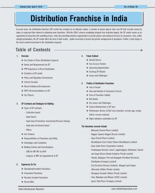 Distribution Franchise in India